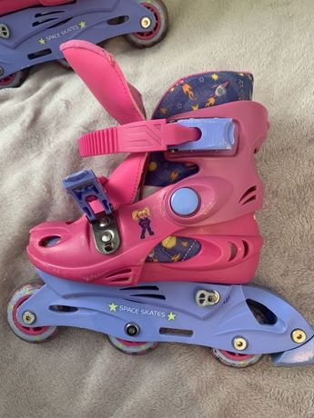 Rolki Space Skates dziewczynka