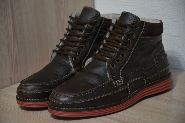 Leather, оригинал теплые кожаные ботинки Genuine Leather