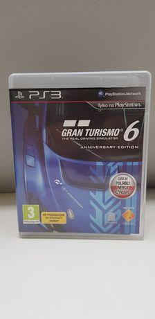 Gran Turismo 6 Anniversary Edition PL na PS3
