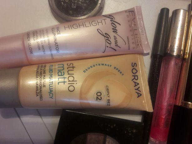 Kilka kosmetyków damskich