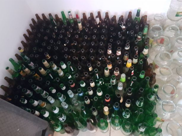 Butelki po piwie bez zwrotne mix
