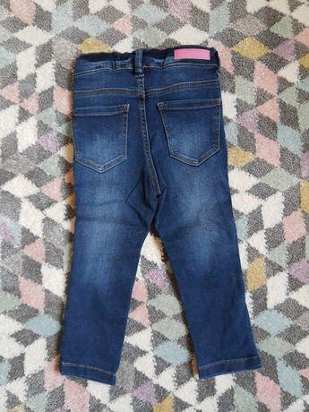 Spodnie dżinsowe r. 86