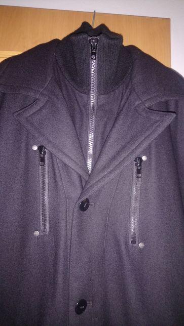 Kurtka płaszcz Solid elegancka gratis eleg.szalik