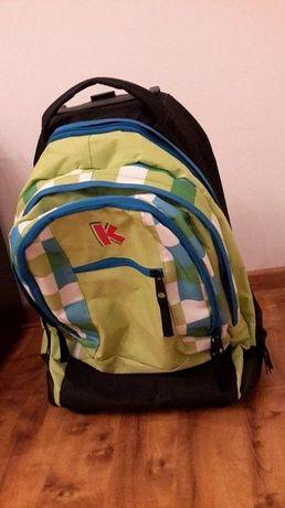 plecak szkolny na kółkach torba podróżna