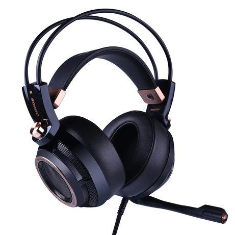 Somic G941 Virtual 7.1 Czarny aktywne tłumienie szumów wersja premium