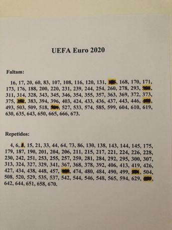 Cromos UEFA Euro 2020