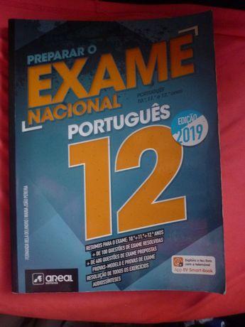 """Preparação Exame Nacional Português da """"Areal Editores""""Edição 2019"""