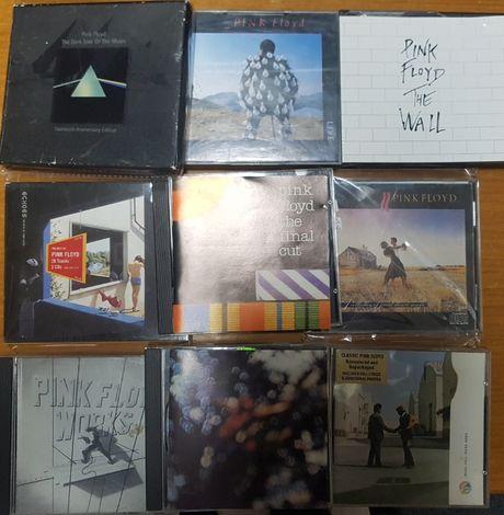 cds Pink Floyd usados em bom estado vendo lote ou unidade