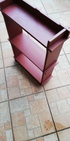 Półka drewniana na przyprawy kuchenne wymiar 62x43x14