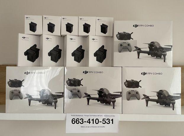 NOWY Dron DJI FPV COMBO - FV23%, PL dystrybucja - OD FIRMY - dodatki