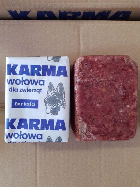 100% wołowina bez kości 10 kg karma dla psa 10 kg mięso surowe dla psa