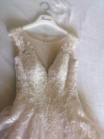Suknia ślubna sweetheart