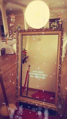Fotobudka fotolustro selfie mirror komunia wesele osiemnastka