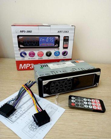 Магнитола в авто 1 din из сенсорным дисплеем с пультом MP3