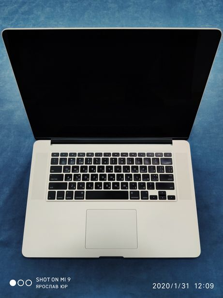 MacBook Pro 15 mid 2014 2015 i7-2.5/16/500gb идеал!