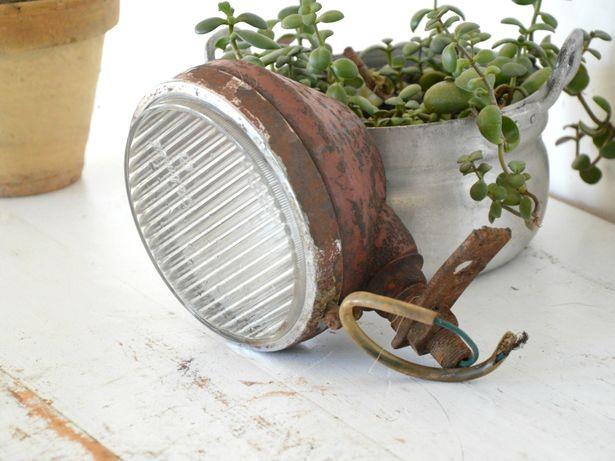 Piękny metalowy REFLEKTOR - LOFT Industrial DUŻY