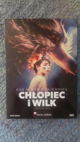 """film DVD """"Chłopiec i wilk"""" dla dzieci"""