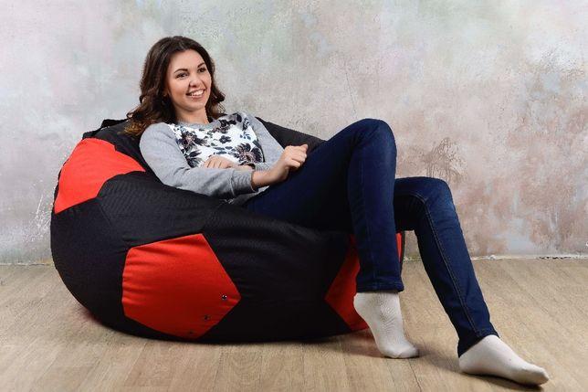 Бескаркасное кресло мяч груша мешок L (110). Мягкий пуф. Мебель оптом