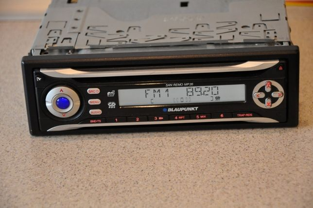 Radio samochodowe Blaupunkt San Remo MP26 RDS FM 30 stacji CD MP3