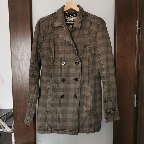 Damski płaszczy jesienno-wiosenny
