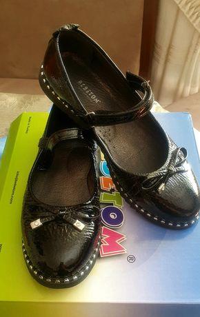Лаковые туфли для девочки идеальное состояние 37 размер