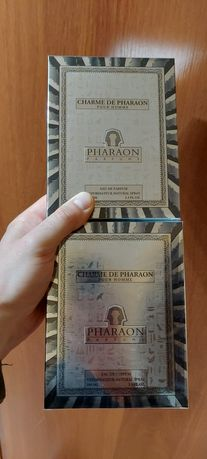 Продам 3 вида духов от Фараон Pharaon Charme, Desir, L'ame