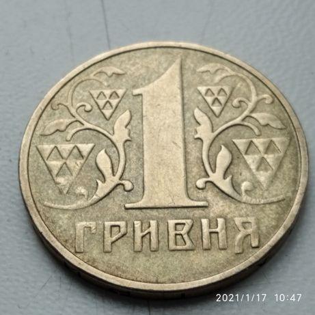1 гривна 2001 г. брак - непрочекан