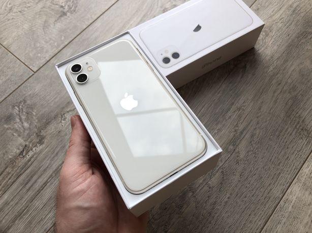 iPhone 11 64gb White Neverlock #s0065