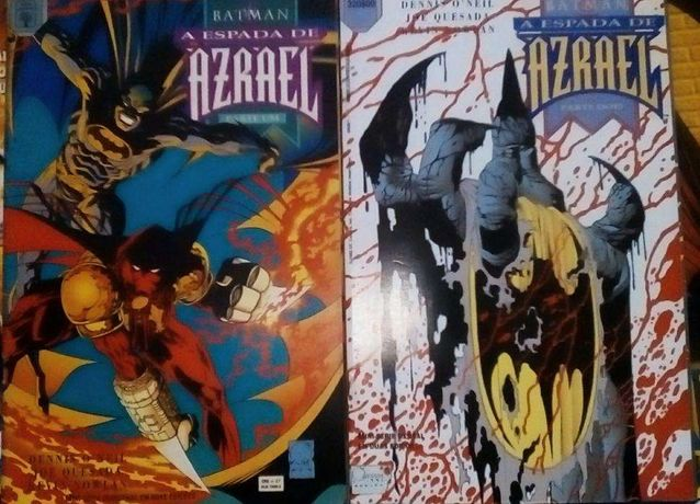 Comics Batman & Azrael mini-serie parte 1 e 2 completa