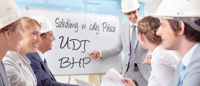 Szkolenia kursy BHP wstępne i okresowe na terenie całego