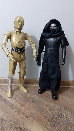 DUŻE Figurki Gwiezdne Wolny C-3PO i KYLO REN Jakks Pacific