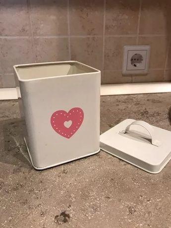 Банка для хранения декор емкость коробка