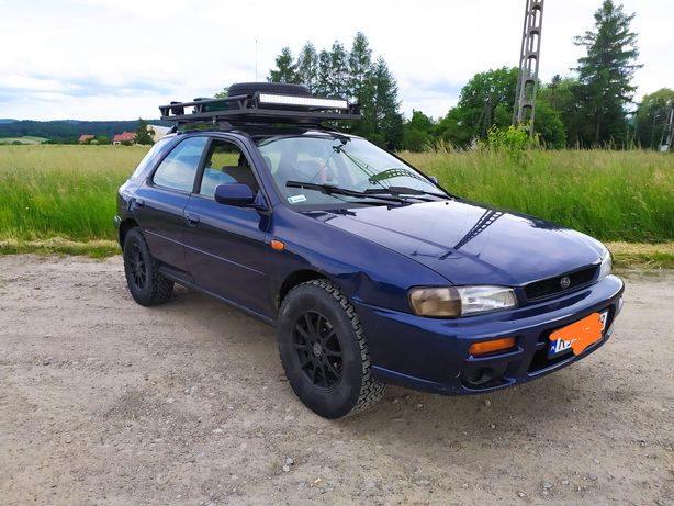 Subaru impreza GC kombi 2.0 LPG  4x4 PODNIESIONY Reduktor