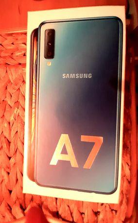 IDEALNY Samsung A7 Niebieski