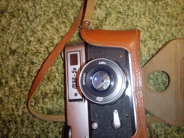 Фотоаппарат ФЕД-5в, кинокамера Кварц