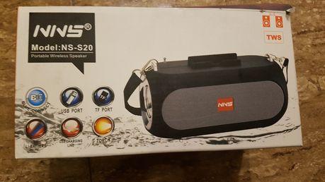 NNS NS-S20 głośnik Bluetooth bezprzewodowy/ FM radio/ USB