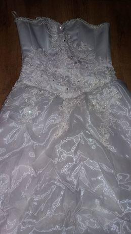 свадебное платье новое 44 не венченое