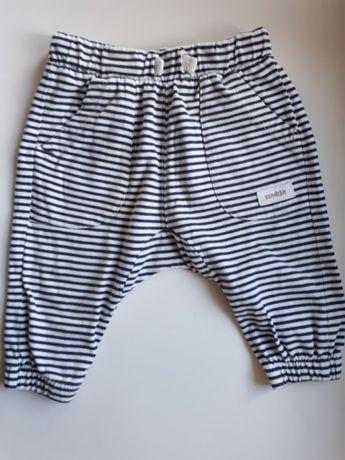Spodnie w paski dresowe newbie by KappAhl 62