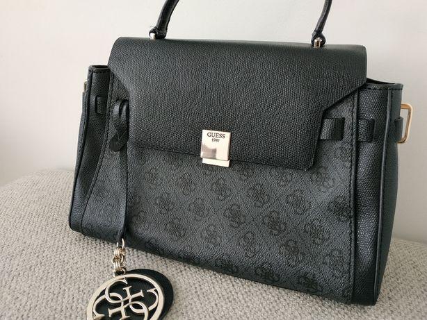 Torebka guess piękna elegancka czarna