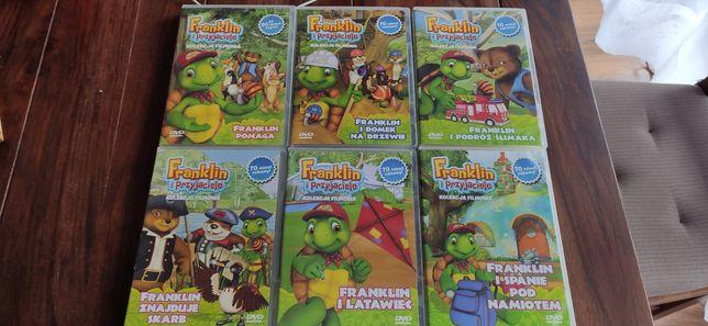 Kolekcja bajek DVD Franklin i przyjaciele Kubuś Puchatek