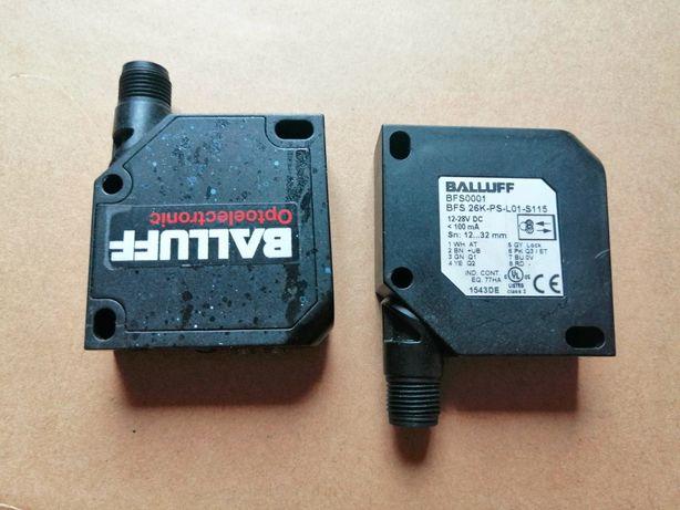 Czujniki koloru Balluff, wymiar 50x50x17 mm, strefa 12-32 mm. 2 szt.