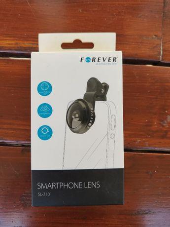 Zdjęcia szerokokątne smartfonem: soczewka Forever 180 stopni