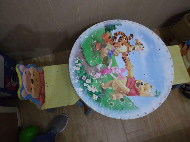Mesa de criança Winnie the Pooh