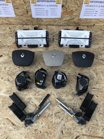 Безпека Airbag Renault Laguna 3 III Подушка безпеки,ремні,піропатрони