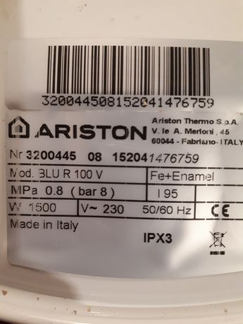 Продам бойлер Ariston