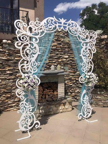 Ажурна весільна арка оренда 2000грн
