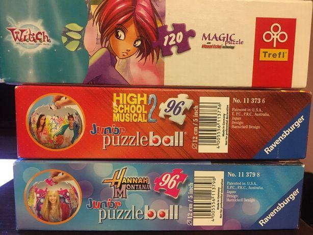 Puzzle ball High School Musical 2 i Hannah Montana + gratis