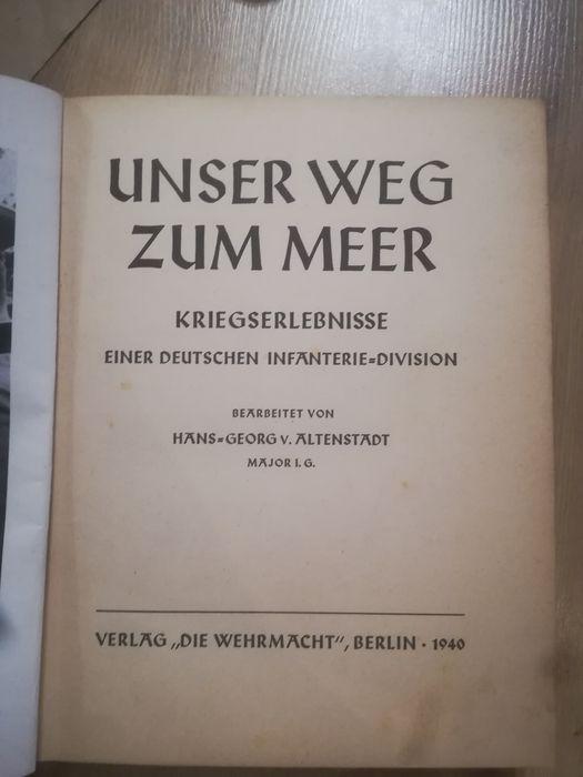 Unser weg zum meer książka Częstochowa - image 1