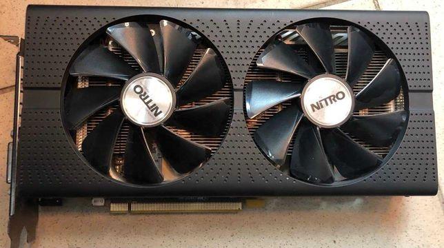 Sapphire Pci-Ex Radeon Rx 480 Nitro+  8Gb Gddr5