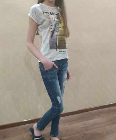 Джинсы, брюки на девочку 11 лет